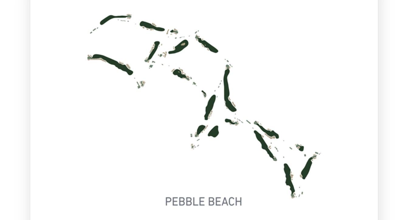 Lie + Loft Pebble Beach map