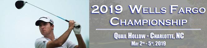 Nick Taylor Round one 2019 Wells Fargo Championship